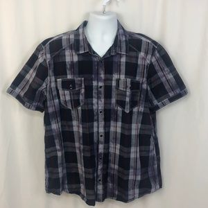 INC International Concepts Men's Short Sleeve